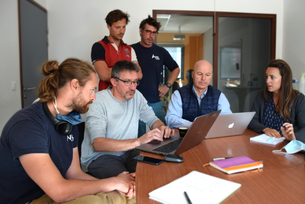 Avel Robotics équipe composite 4D Lorient pièces composite nautisme aéronautique